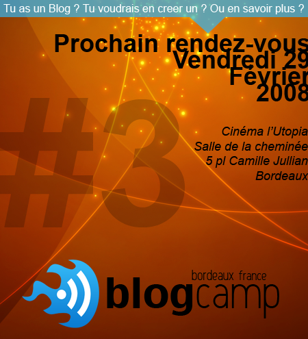 Blog Camp (Bordeaux) #3